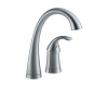 Delta 1980-AR-DST Pilar Arctic Stainless Single Handle Bar/Prep Faucet