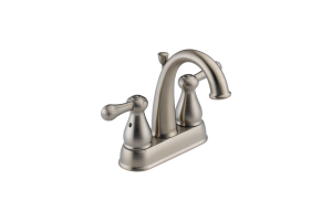 Delta 2575LF-SSMPU Leland Stainless Two Handle Centerset Lavatory Faucet