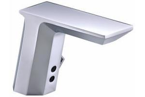 Kohler K-7516-CP Polished Chrome Hybrid Geometric Touchless Deck-Mount Faucet