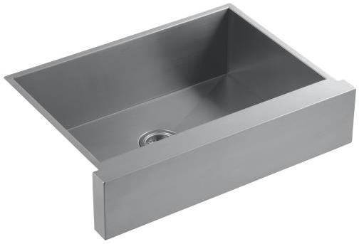 Kohler Vault K 3935 4 Top Mount Single Basin Stainless Steel Sink With