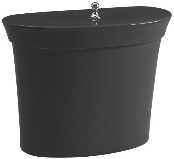 Magnificent Kohler Serif K 4608 7 Black Black Toilet Tank Gamerscity Chair Design For Home Gamerscityorg