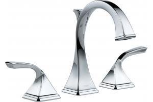 Brizo 65330lf Pc Virage Chrome Widespread Lavatory Faucet
