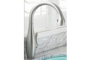 Kohler K 692 Vs Clairette Vibrant Stainless Steel Pullout