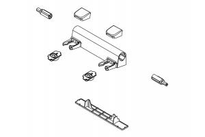 Kohler 1150464-0 Part - White Eb Hinge Kit 1
