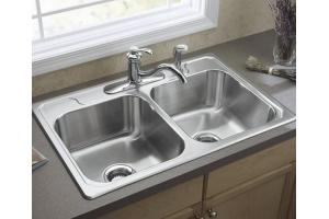 sterling kitchen sink sterling f14707 3 middleton stainless steel self 2512